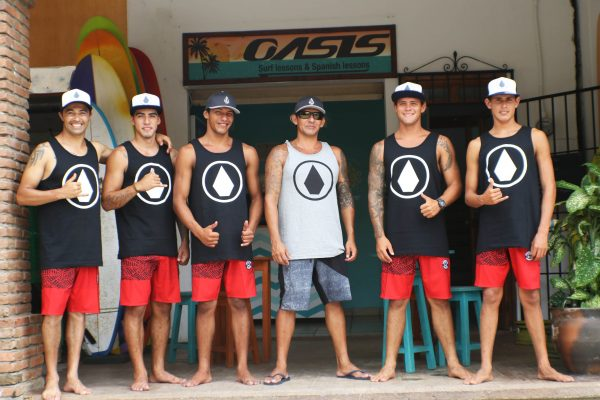 The surf instructors Mexico