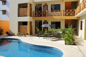 One of the apartments Mexico