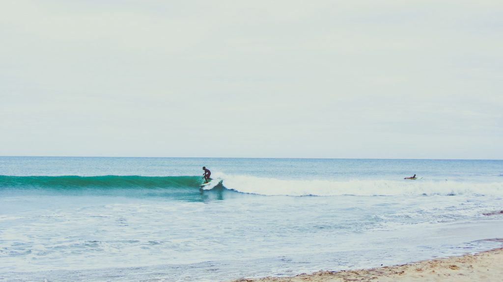 Surfing France Waves