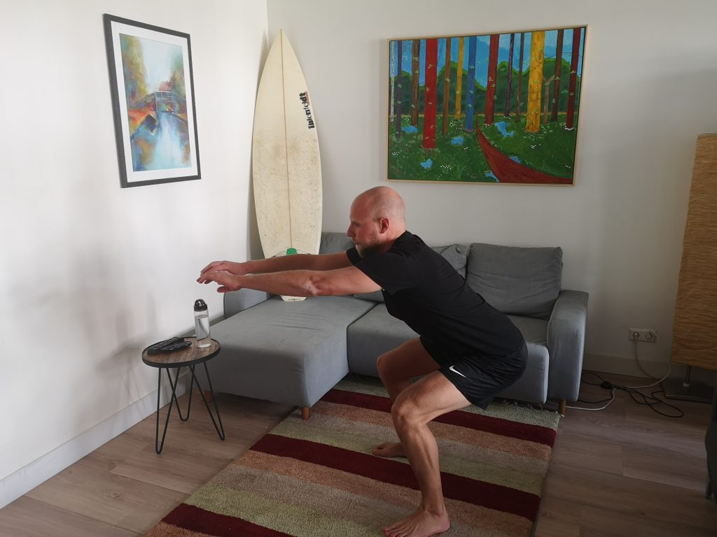 SurfaWhile Fitness Squat