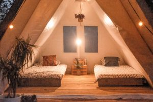 Delue Camp Twin Beds